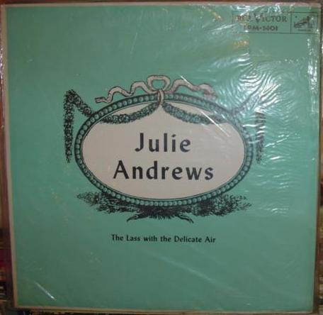 Julie Andrews - Lass with delicate Air - RCA Mono - 1957 sealed